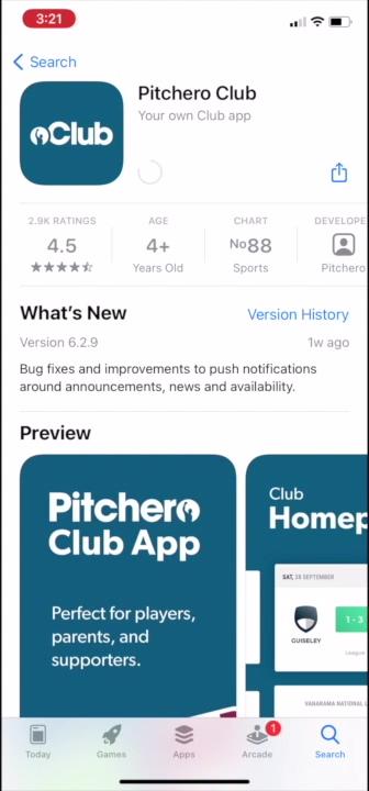 Club App Download