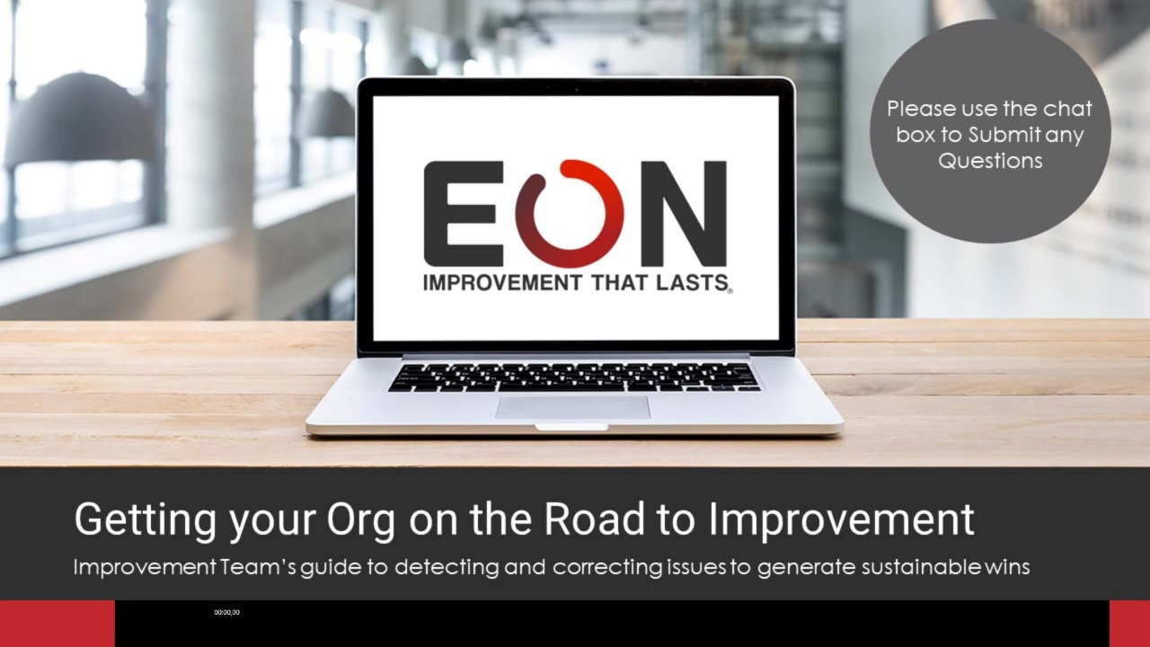 Detecting and Correcting Issues - EON Webinar