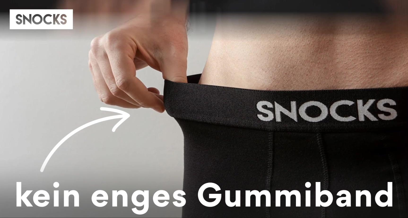 Sponsored Brand Video Ad auf Amazon von SNOCKS