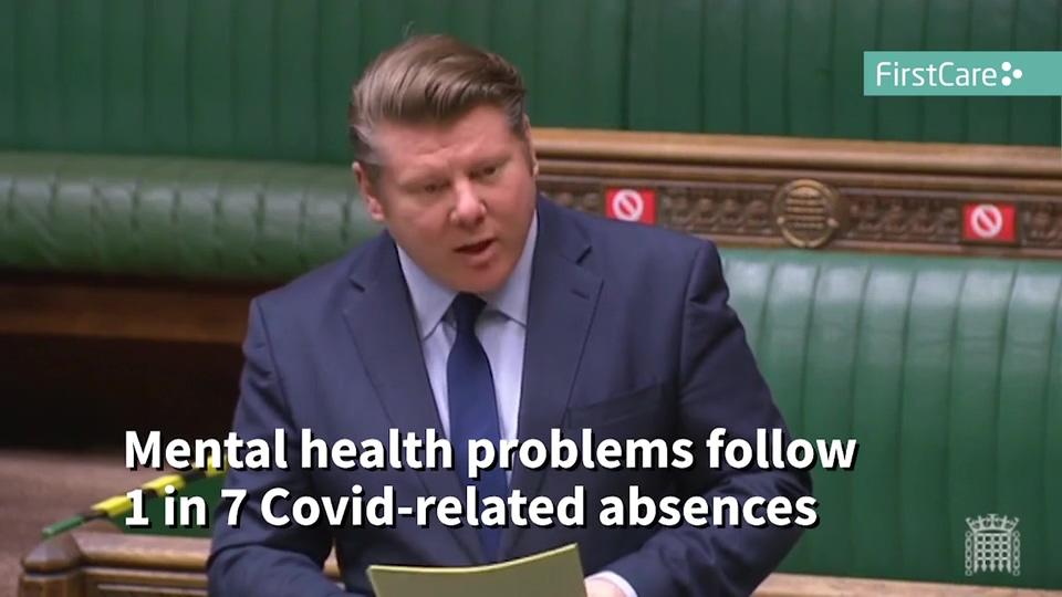 Dean Rusell MP First Aid - Mental Health Bill Proposal