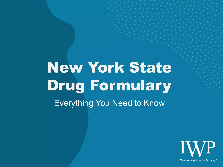 NY WC Formulary 6.22