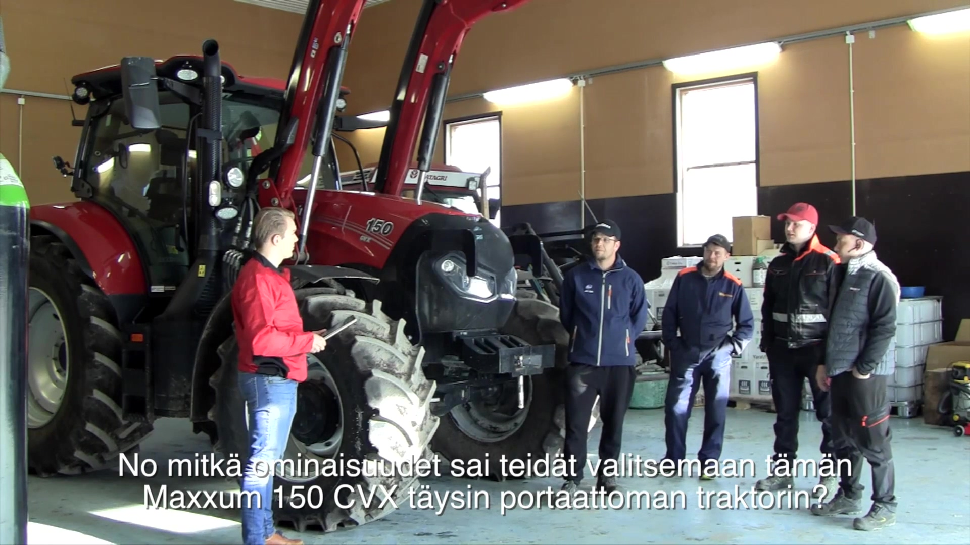 Case IH Maxxum 150 CVX_Puma 165 CVX_1080p