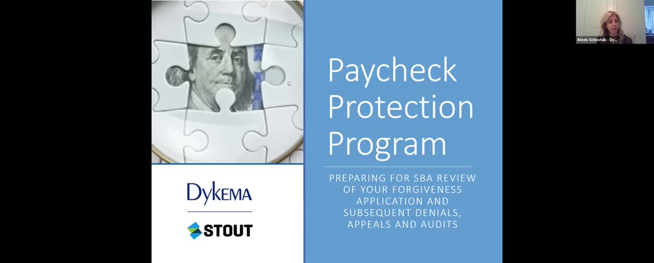 Paycheck Protection Program, June 24, 2021 Webinar