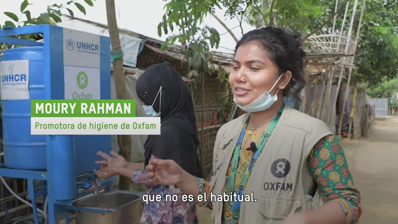 Grifos contra la COVID-19 - Oxfam Intermón