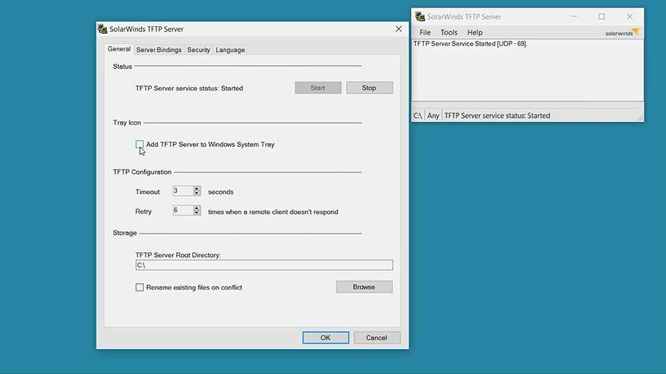 SolarWinds TFTP Server Free Tool - Video | SolarWinds
