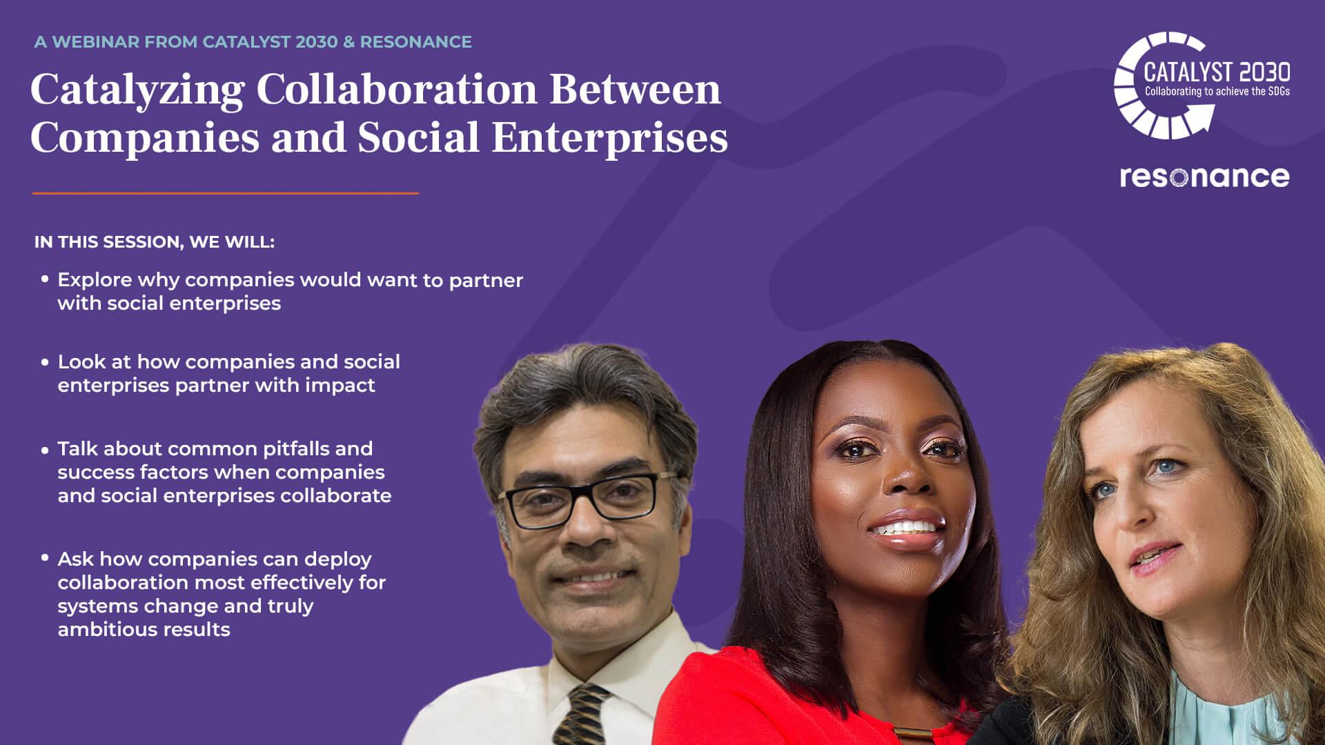 OnDemand - Catalyzing Collaboration Between Companies and Social Enterprises