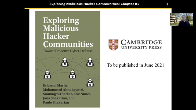 Exploring Malicious Hacker Communities Introduction
