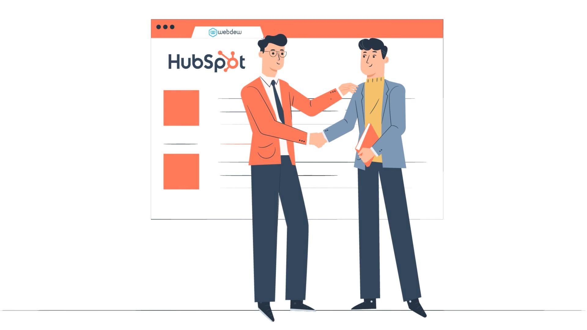webdew HubSpot Migration storyboard