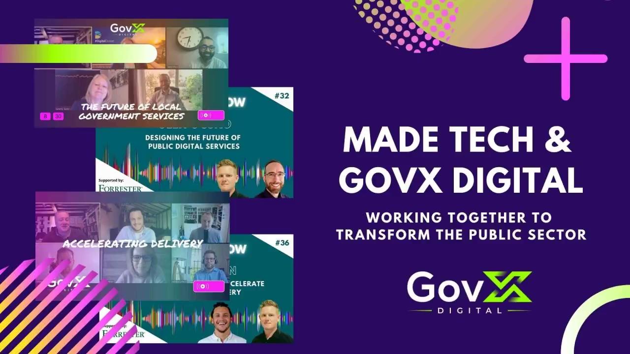 GovX Digital and Made Tech