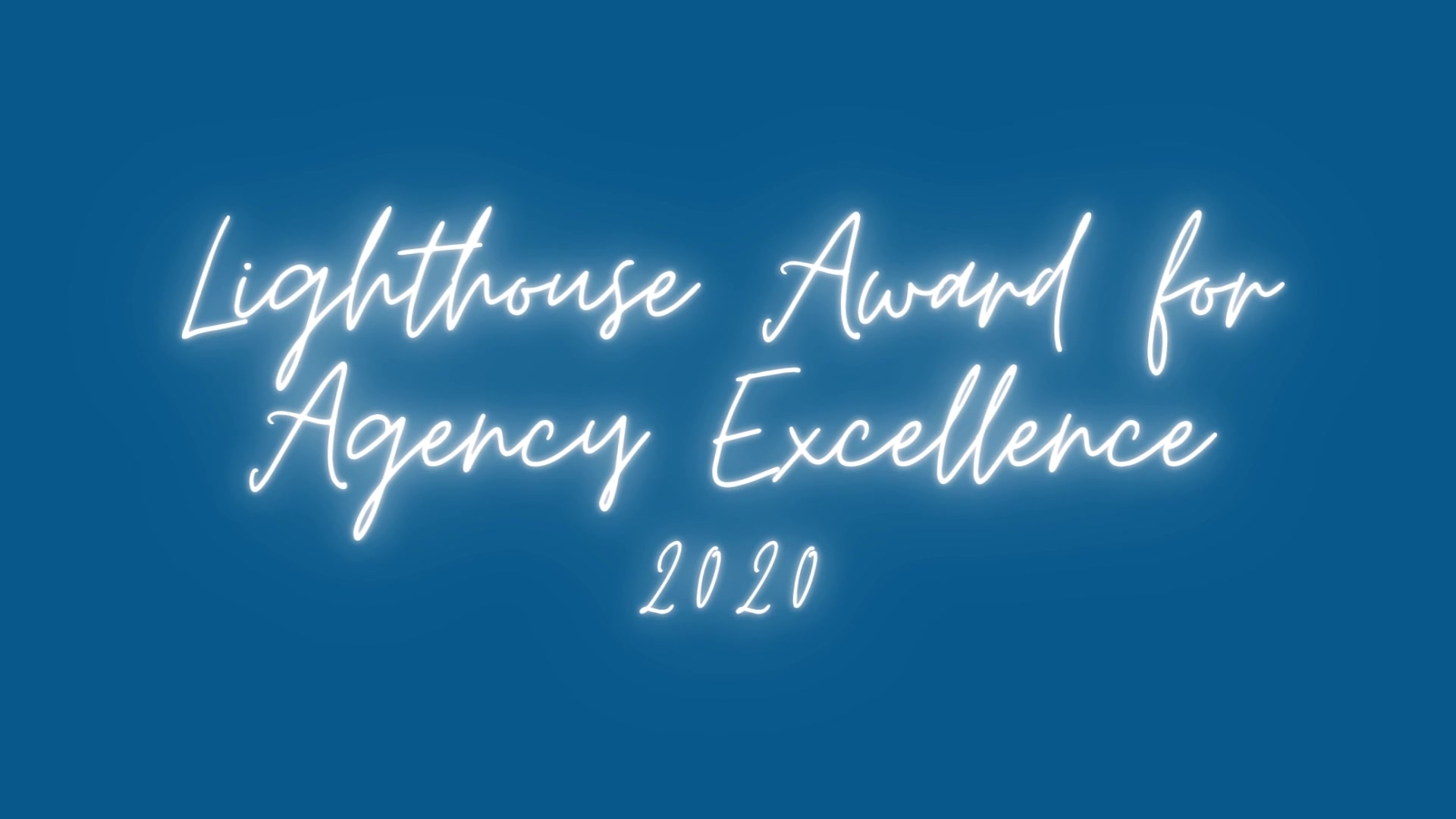 2020 Lighthouse Award for Agency Excellence