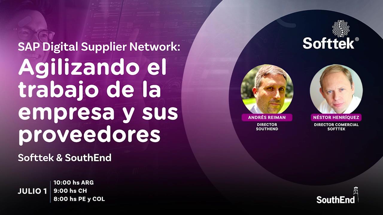 2021 Evento SAP Digital Supplier Network- SouthEnd y Softtek
