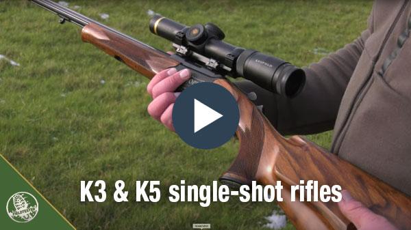Merkel K5 & K3 single shot rifles