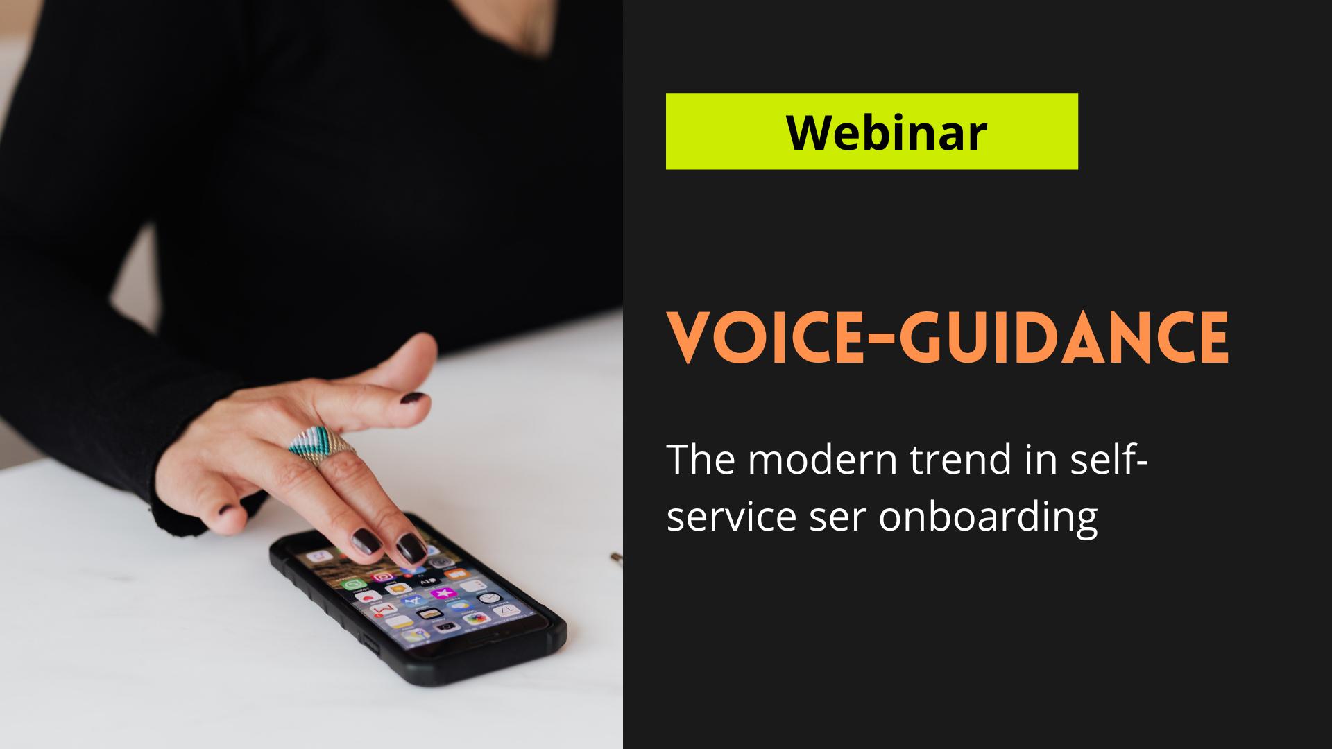 Webinar-Voice guided tour