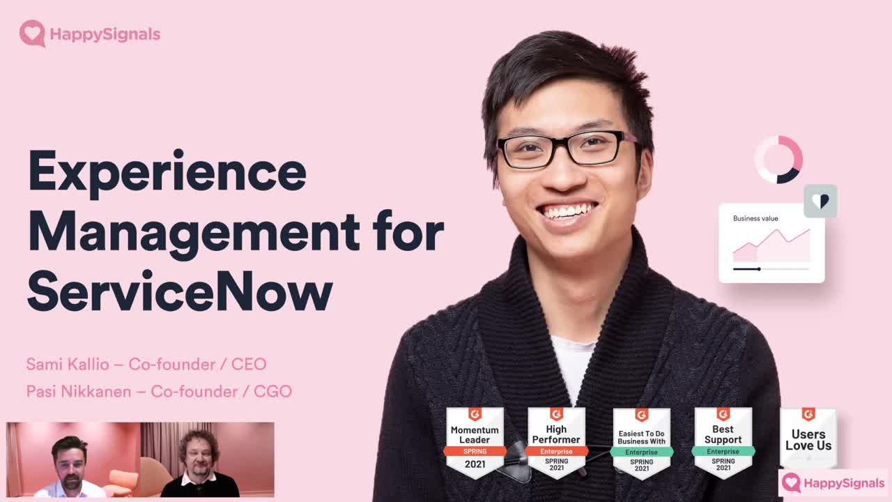 Experience Management for ServiceNow