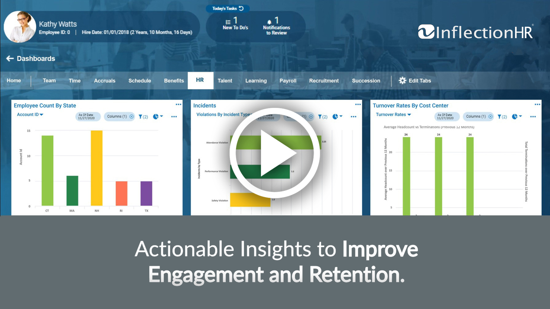 Inflection HR Human Resources Software Video Overview