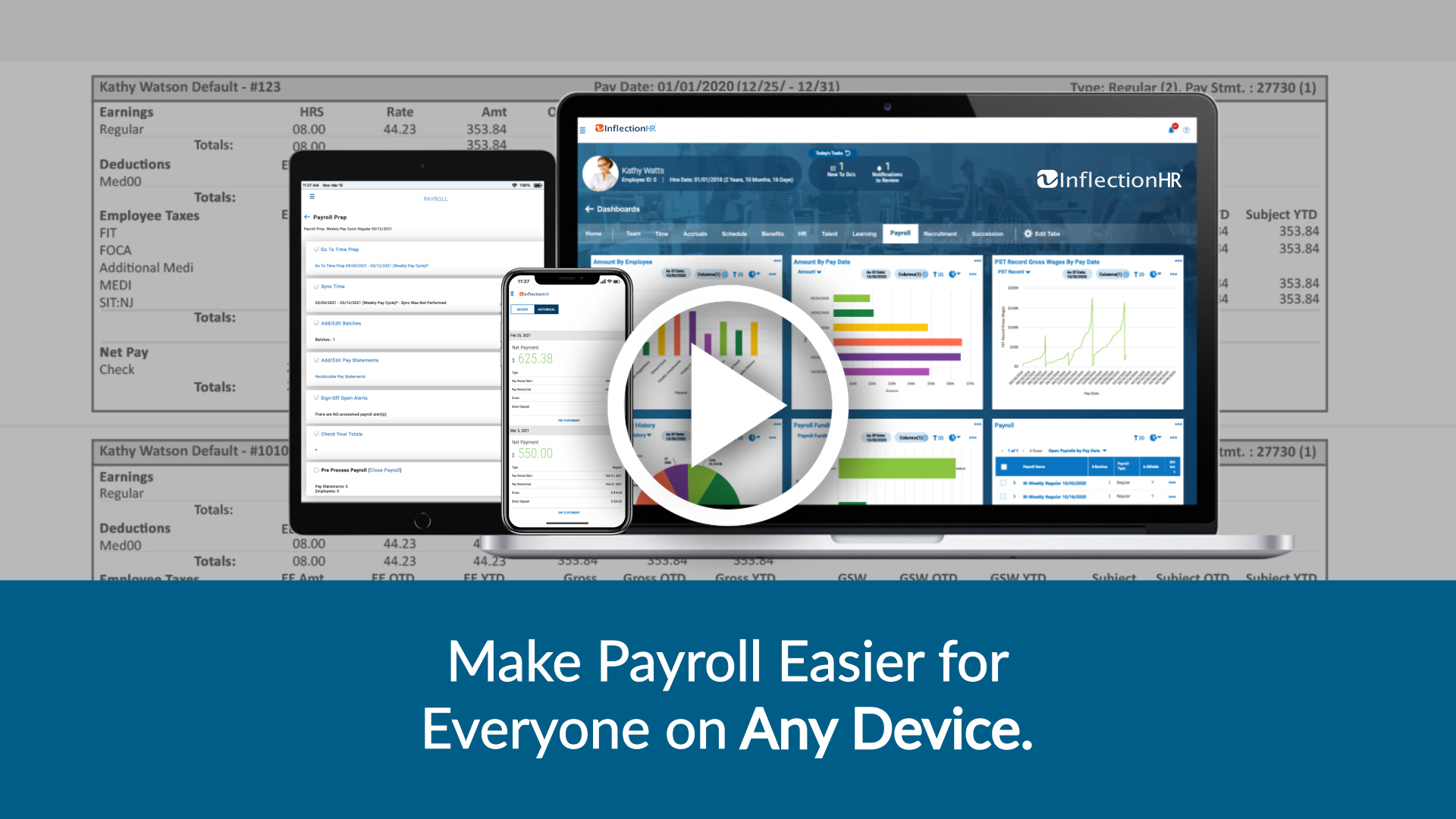 Inflection HR Payroll Software Video Overview