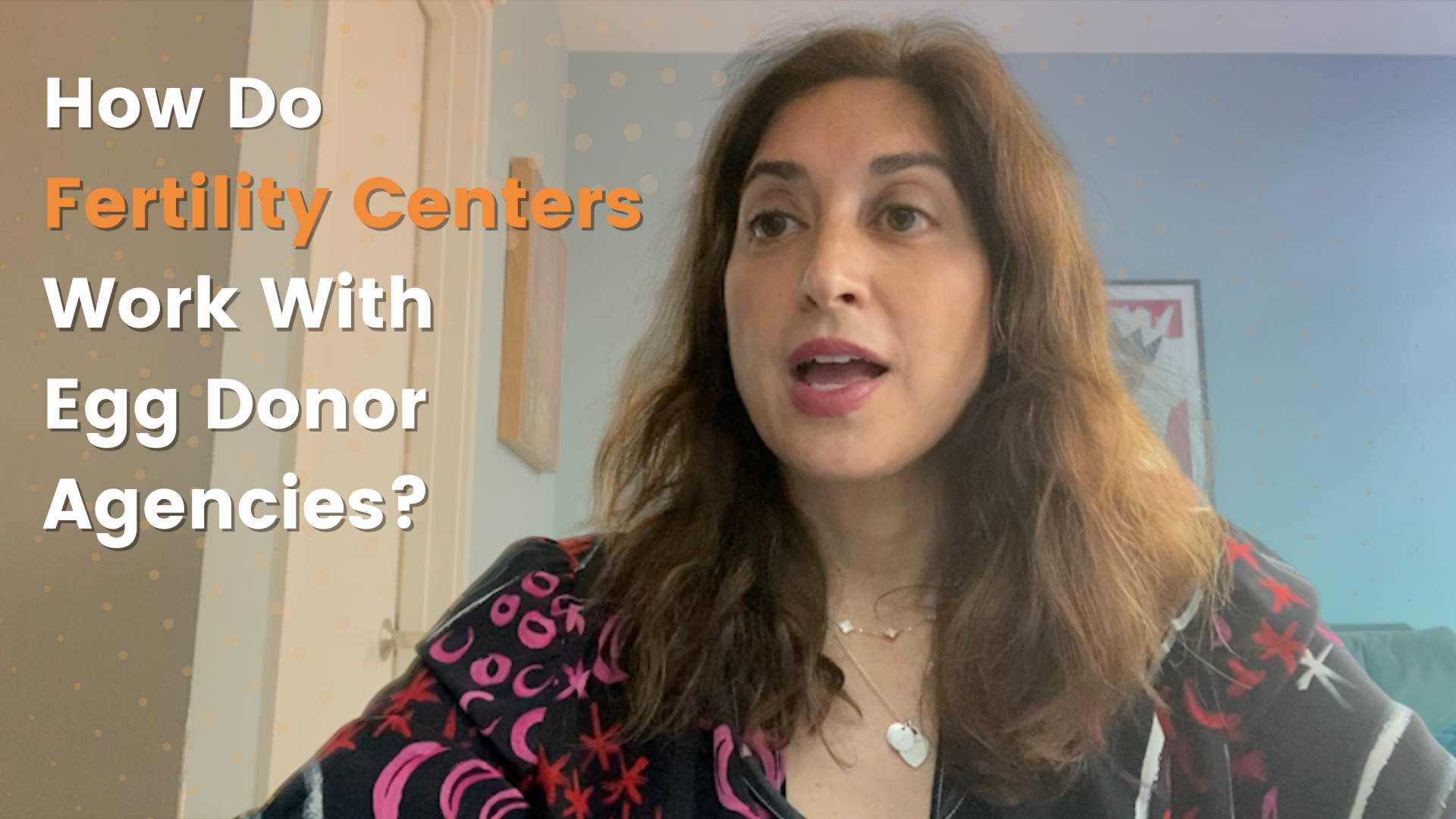 How do fertility centers and egg donor agencies work together