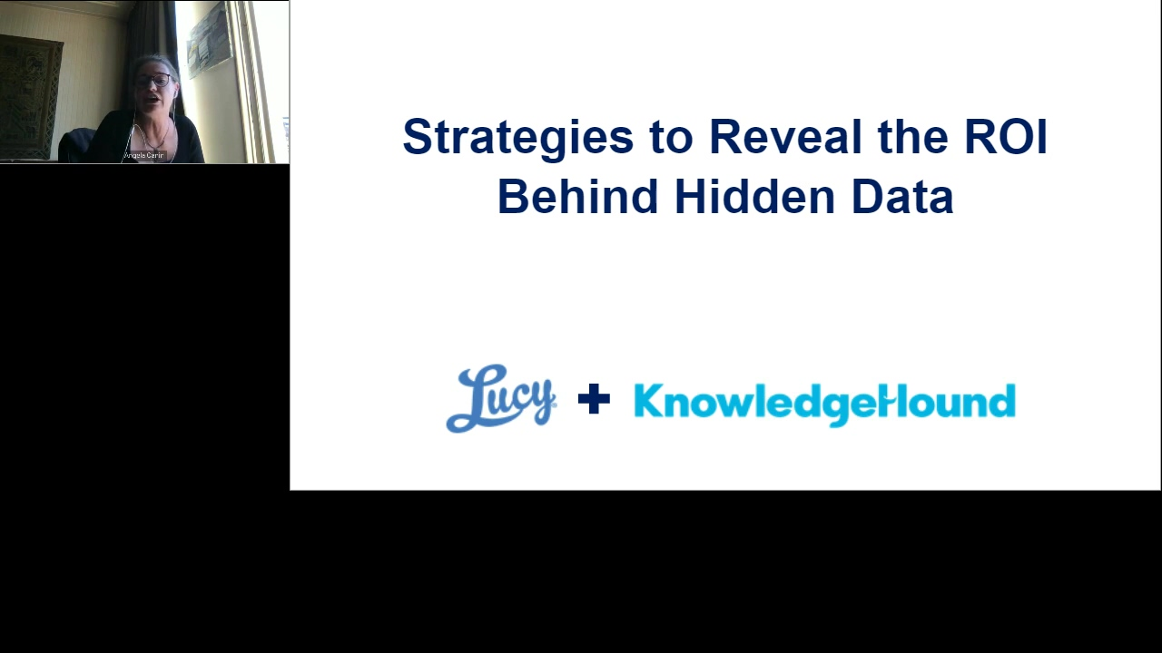 Strategies to Reveal the ROI behind Hidden Data