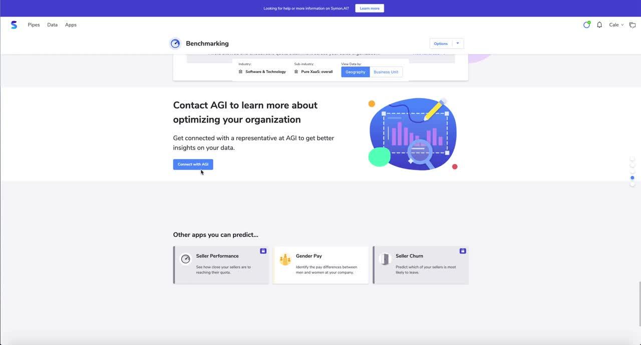 Benchmarking app demo