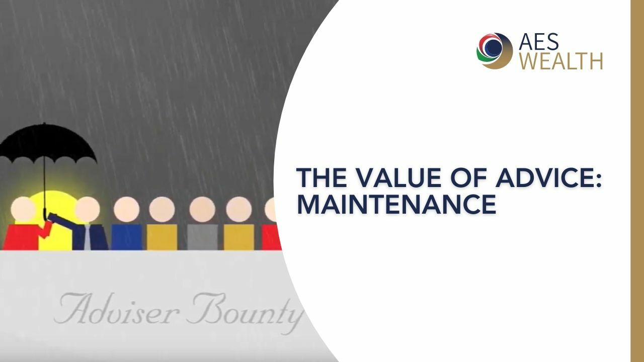 THE VALUE OF ADVICE 4 - Maintenance AES International