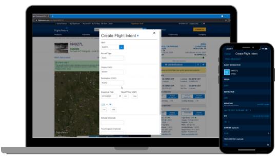 Aviator Create a Flight Intent Video