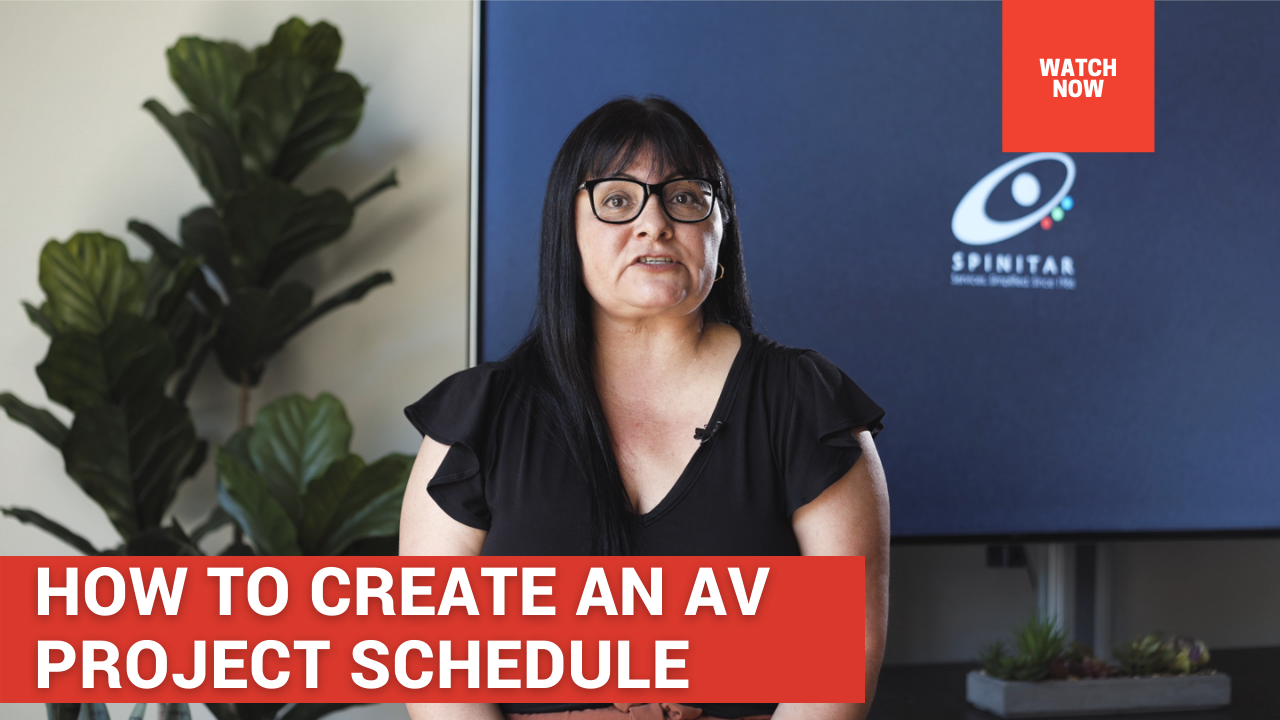 How to Create an AV Project Schedule v2