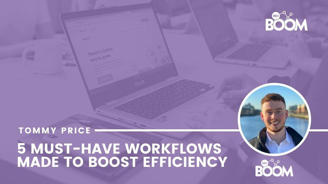 5 workflows
