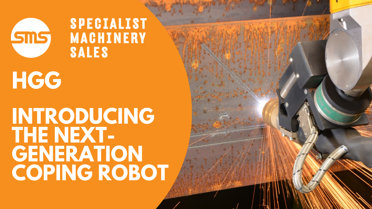 HGG RPC 1200 Mk3 - Next Generation Beam Coping Machine, which also profiles pipe