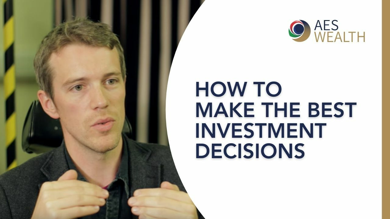 Adviser Vlog 15 How to make the best investment decisions