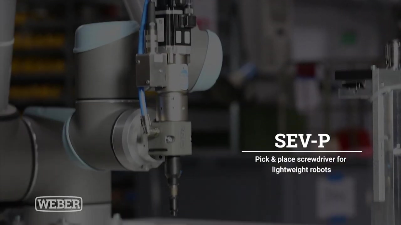 Screwdriving technology with tool changer system (Pick&Place) SEV-P WEBER