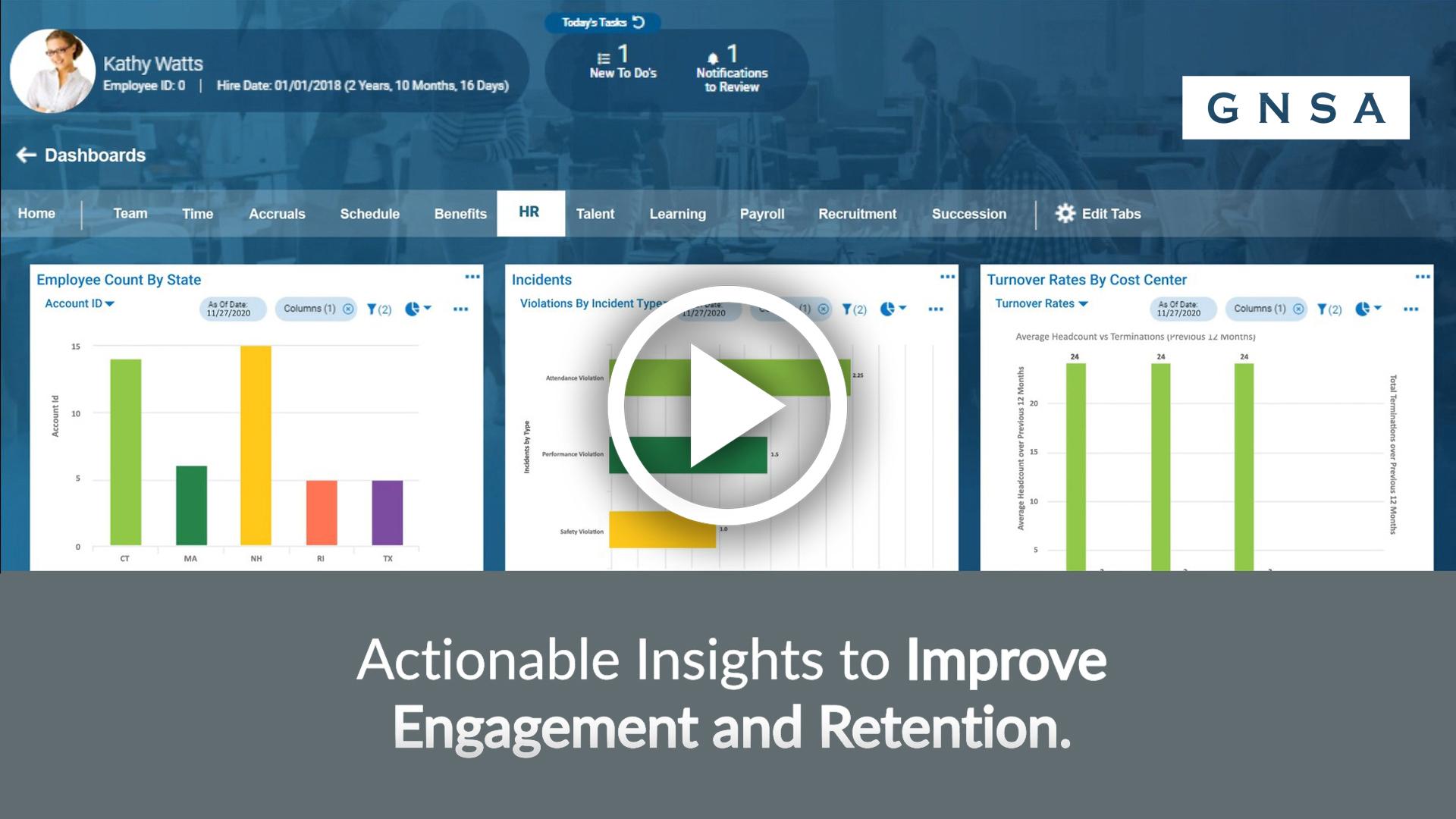 GNSA HR Software Video Overview