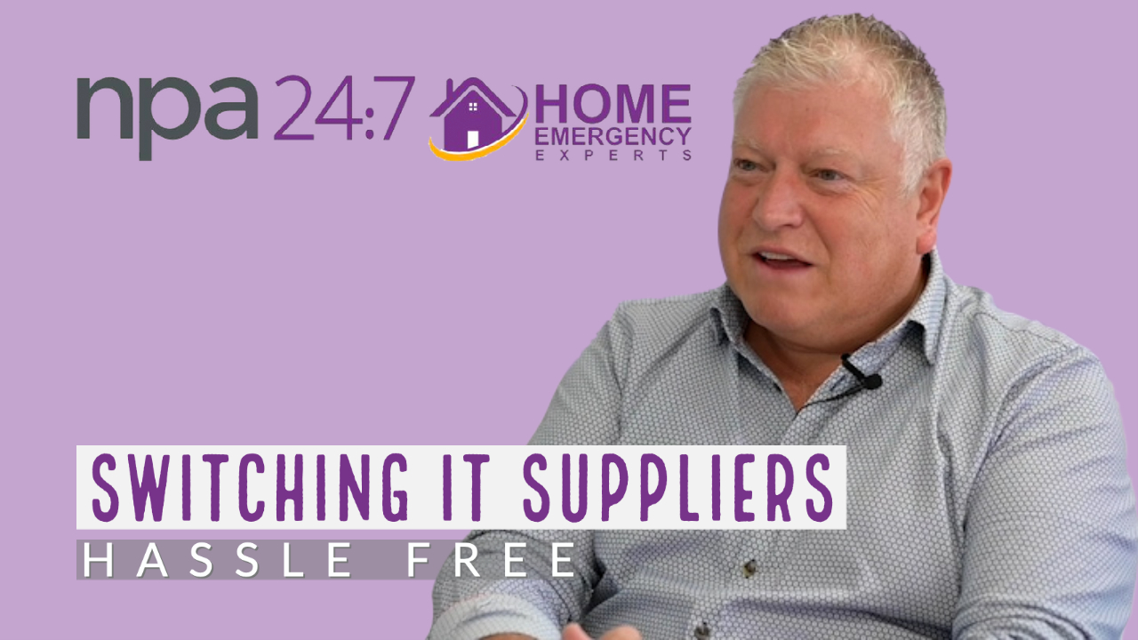 Switching suppliers NPA