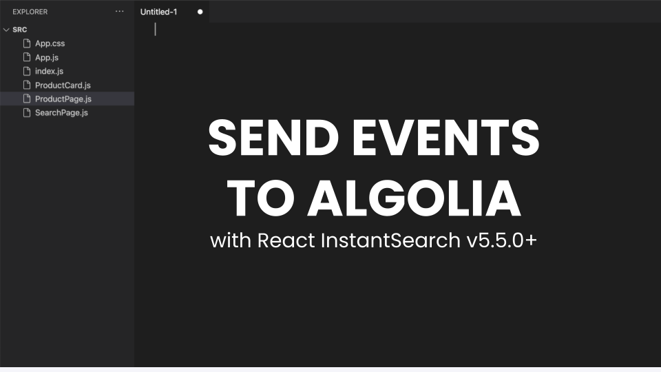 """illustration for: 'Send Insights API events with React InstantSearch'"""""""