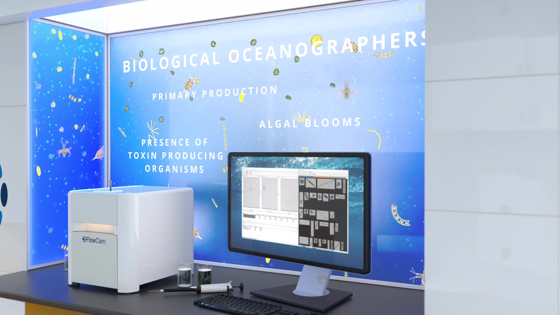 FlowCam Water Markets Video - Contact Us - Oceanographers Thumbnail
