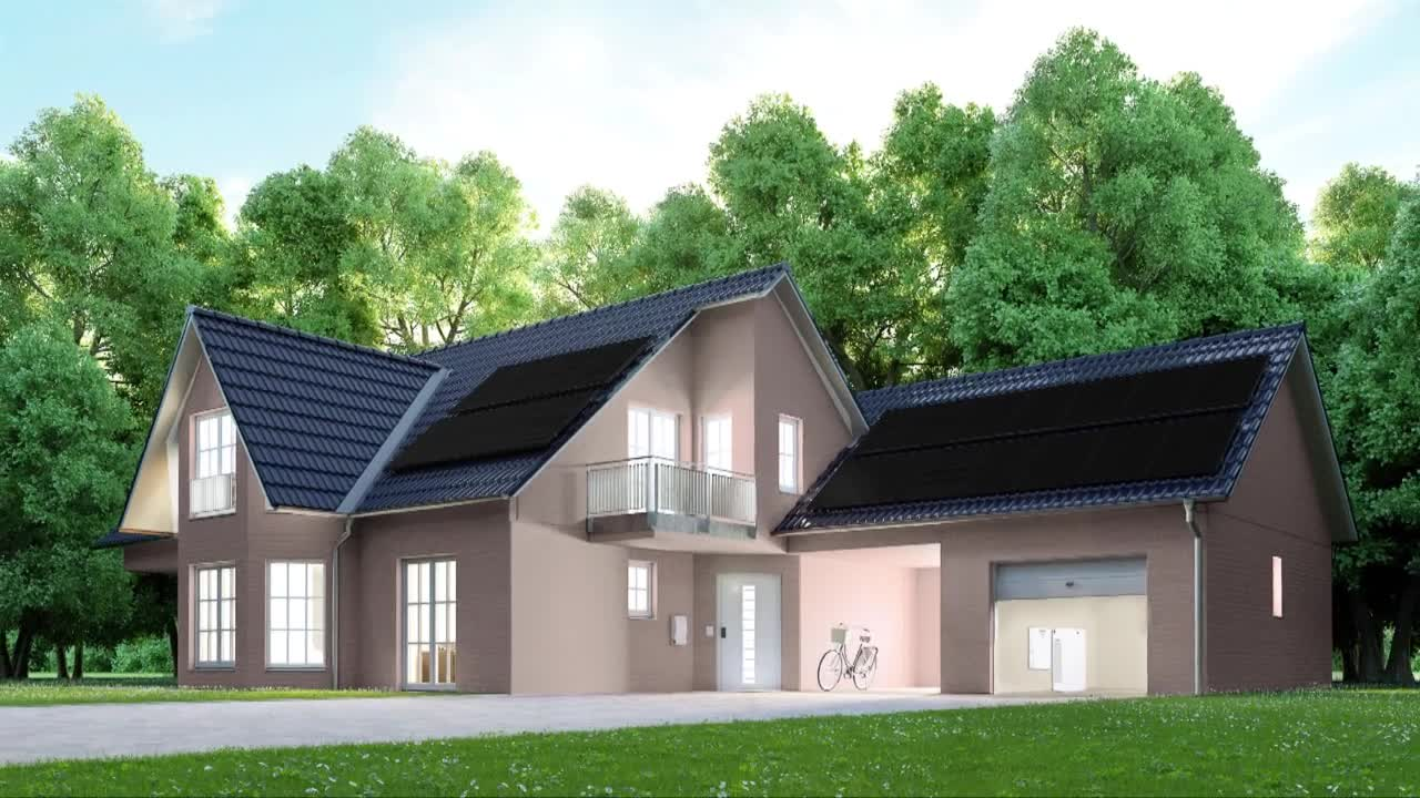 Video: Solar-Equipped Homes Handle Extremes of Weather, Nature