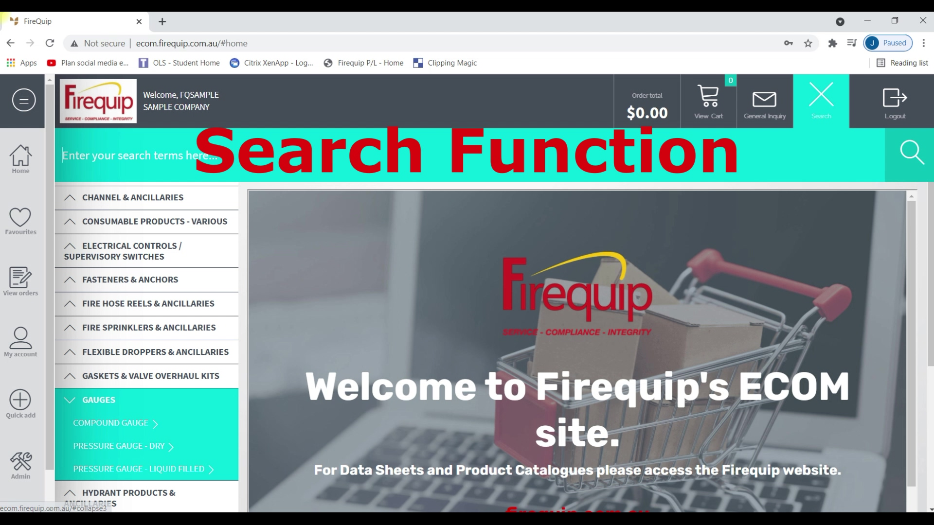 Ecom - Search and product info-1