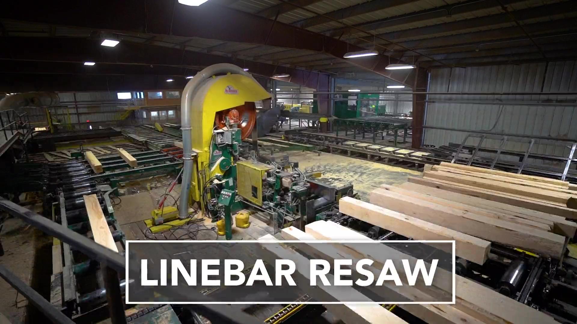 McDonough Linebar Resaw (Long Format)
