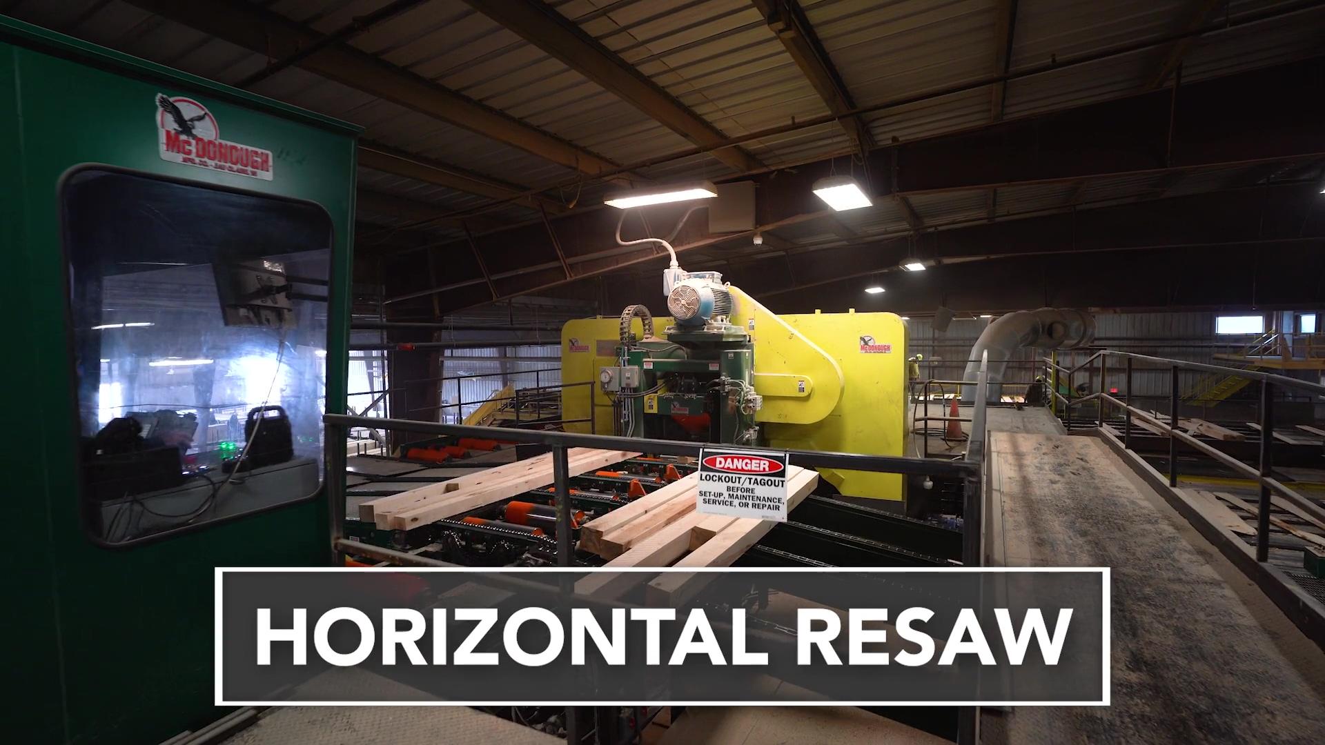 McDonough Horizontal Resaw (Long Format)