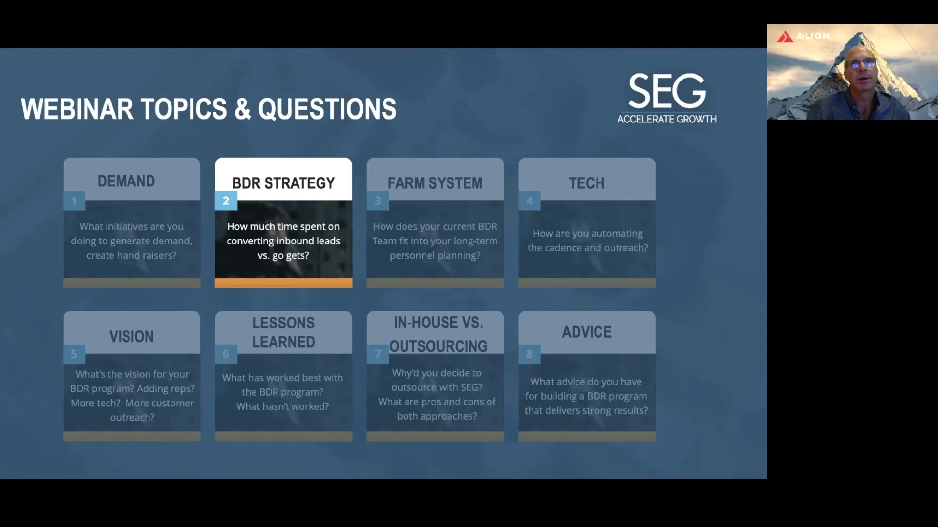 A-LIGN Webinar- BDR Strategy- Converting Leads
