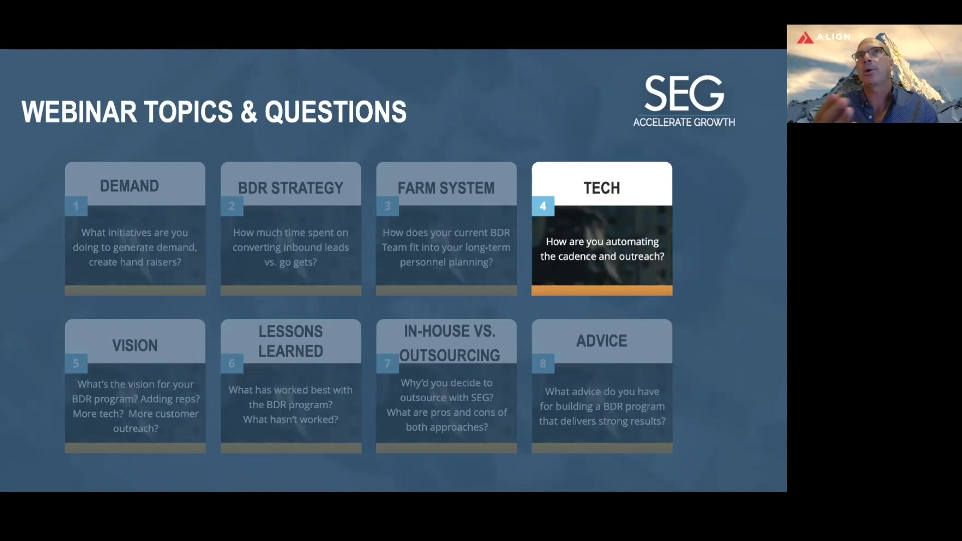 A-LIGN Webinar- What Role Does Technology Play For Your BDR Team