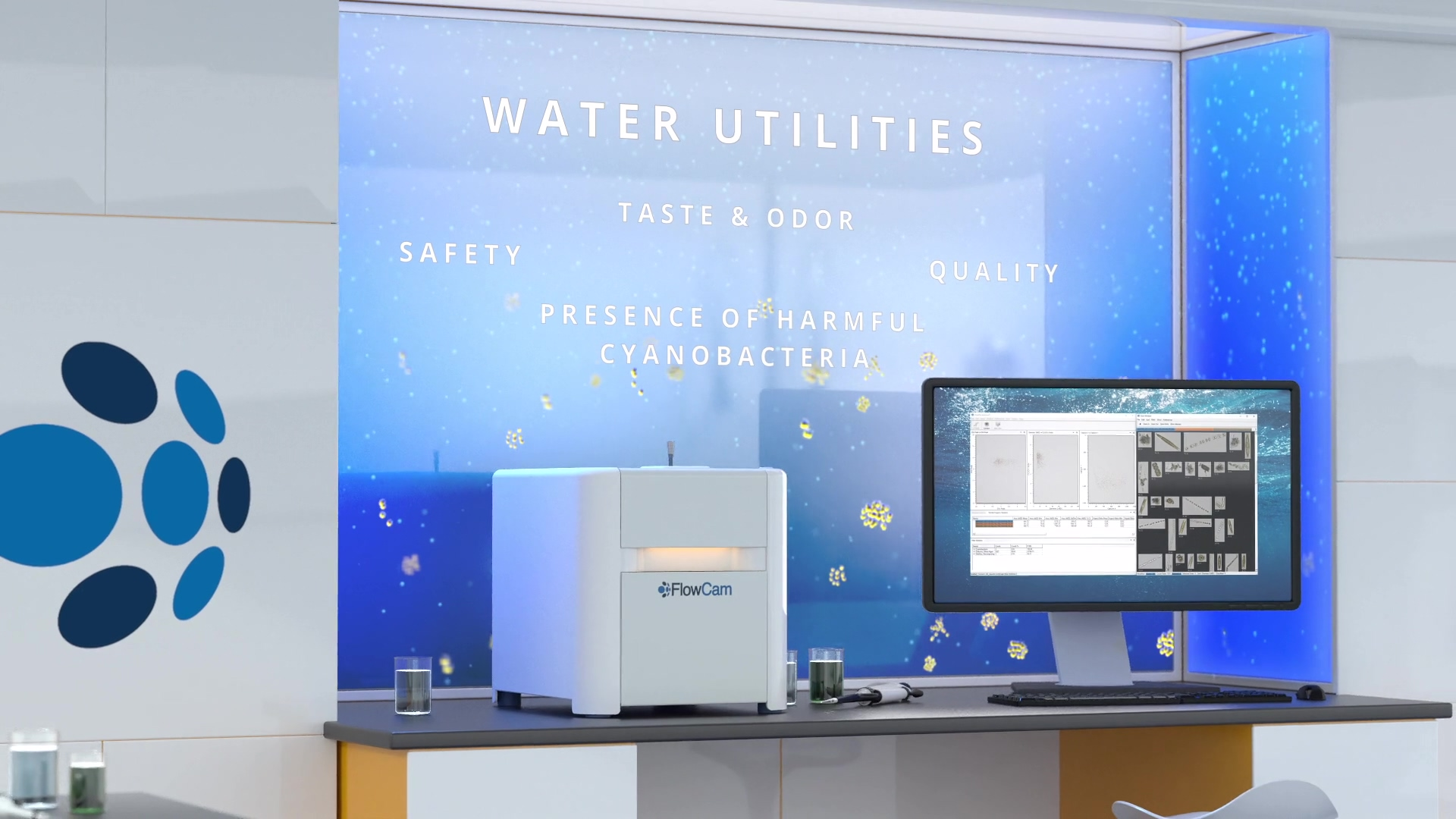 FlowCam Water Markets Video - Contact Us - Water Utilities Thumbnail