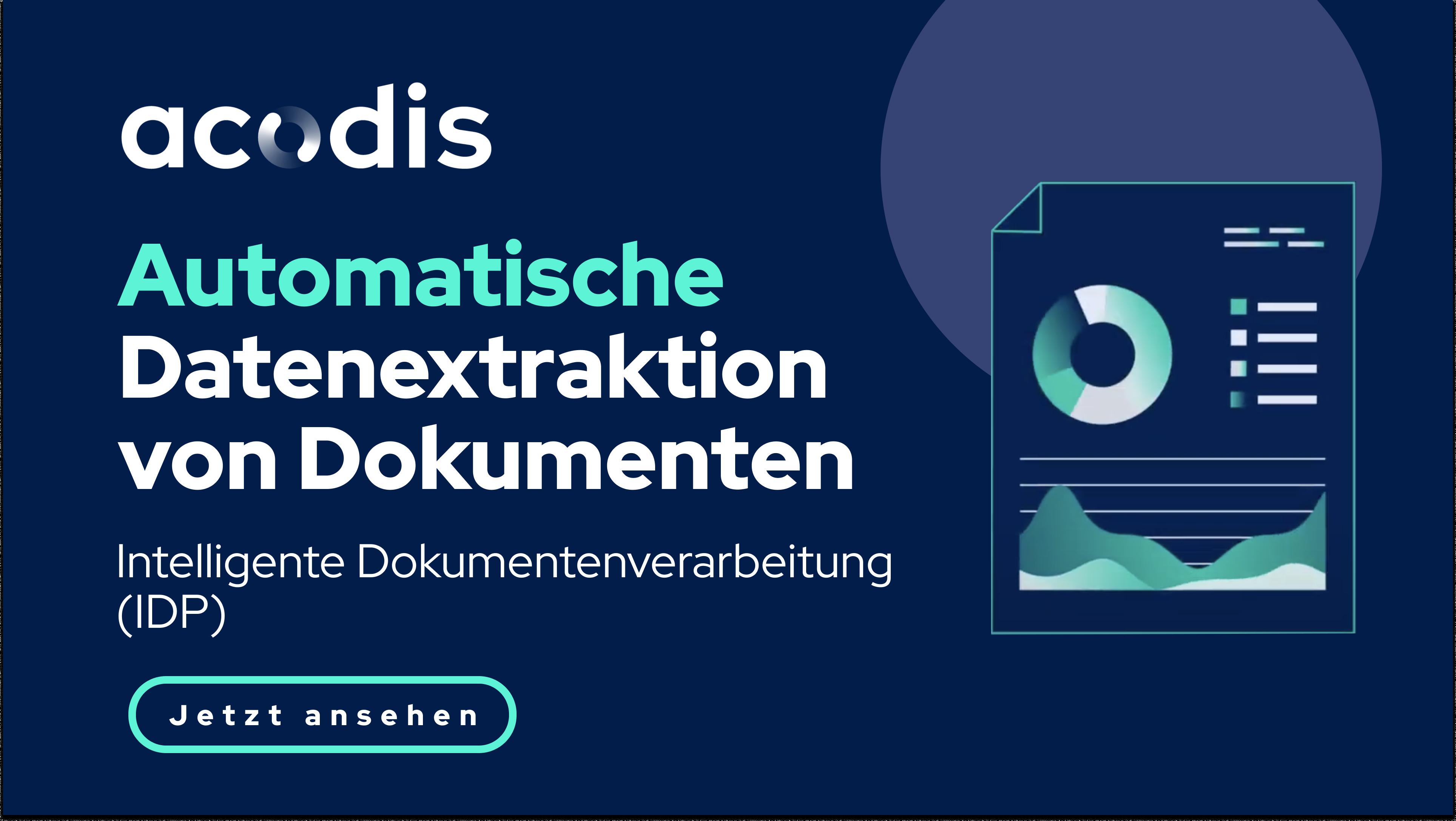 Intelligente Dokumentenverarbeitung (open subtitles)