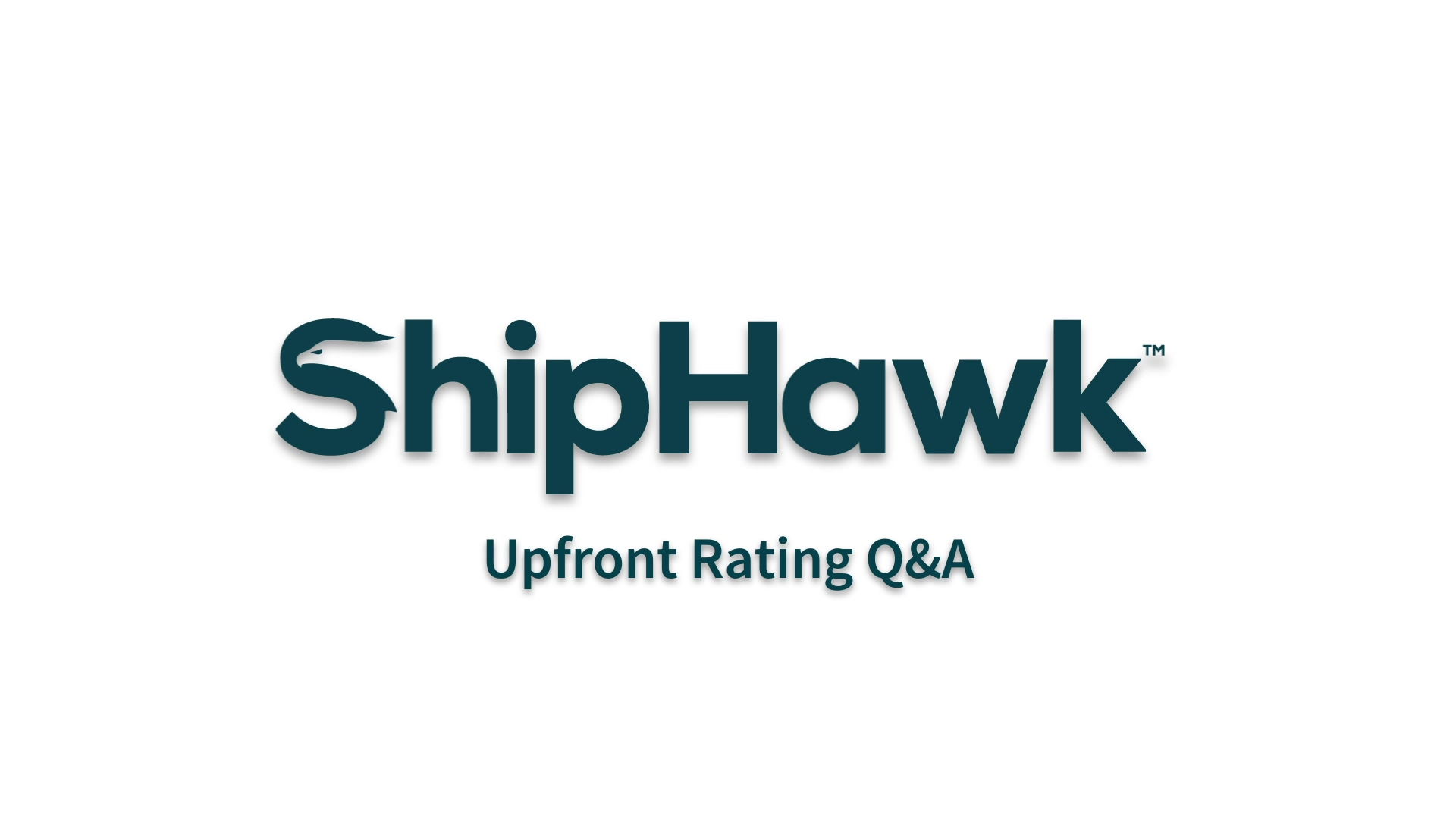 (1) Upfront Rating