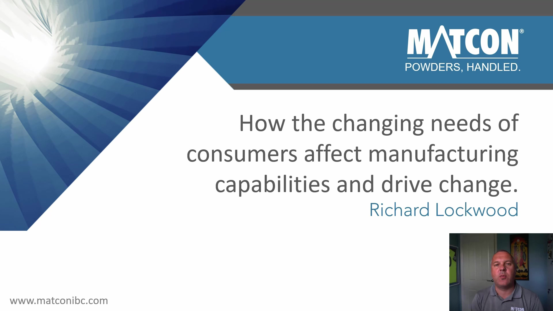 How the changing needs of consumers affect manufacturers