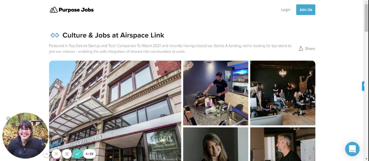 Airspace Link Jobs in Detroit - Purpose Jobs