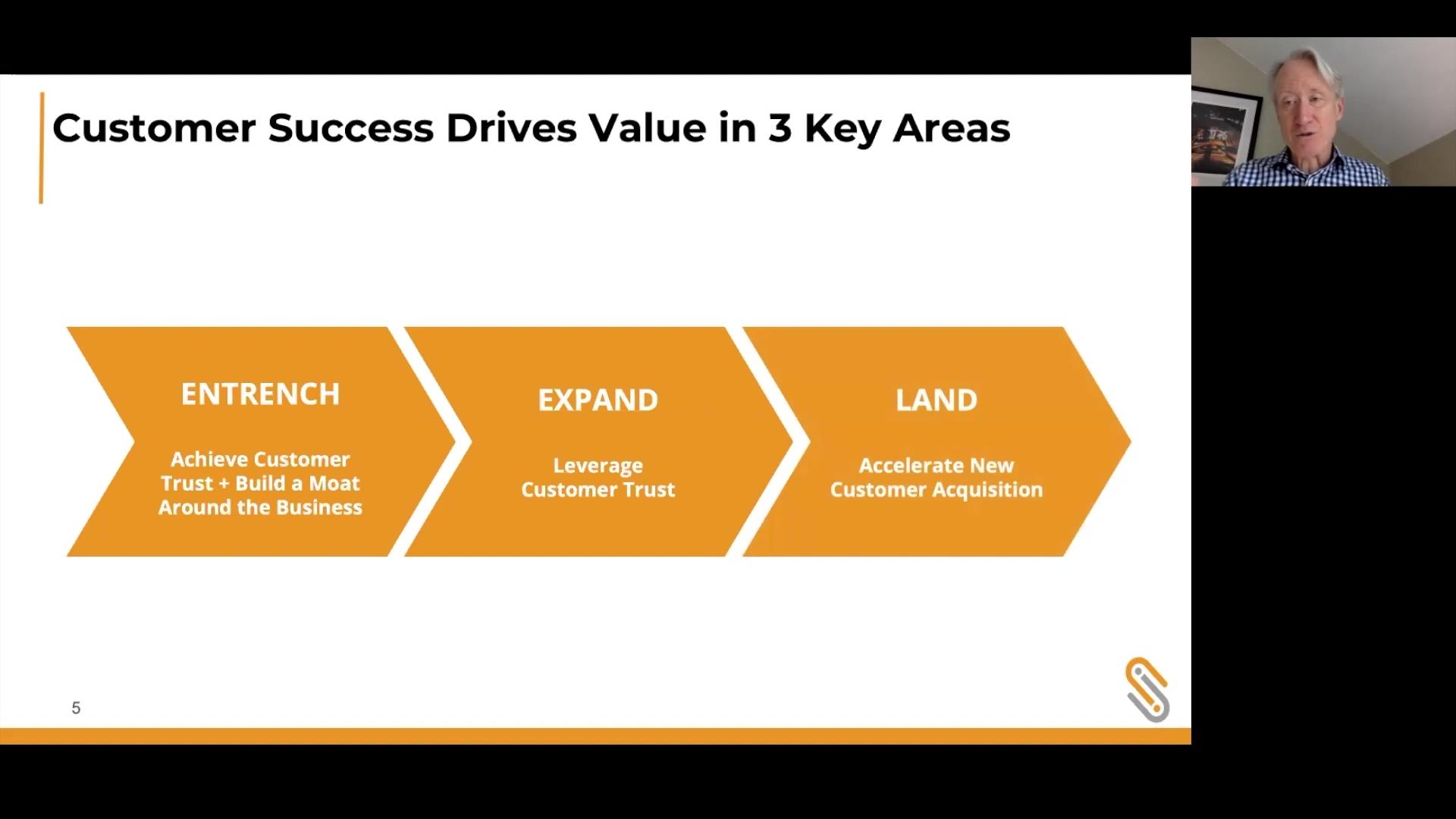 Carema Consulting Webinar- Customer Success Drives Value in 3 Key Areas