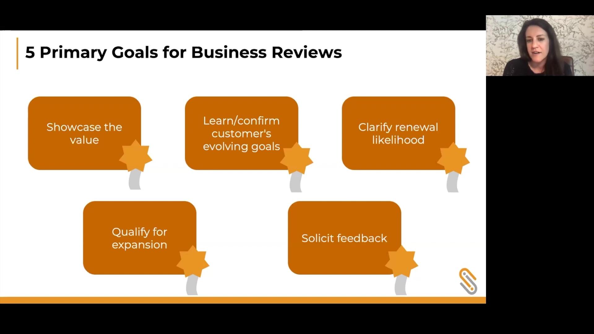 Carema Consulting Webinar- 5 Primary Goasl for Business Reviews