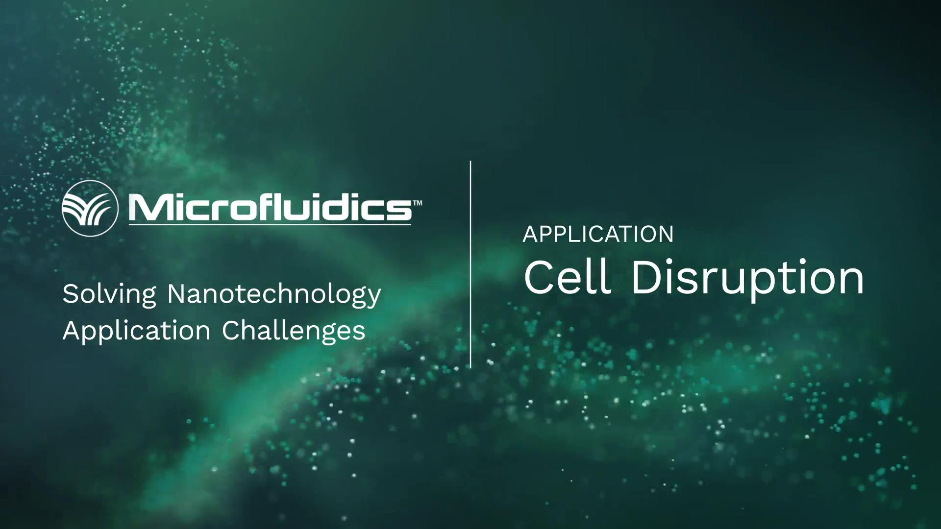 Cell Disruptors