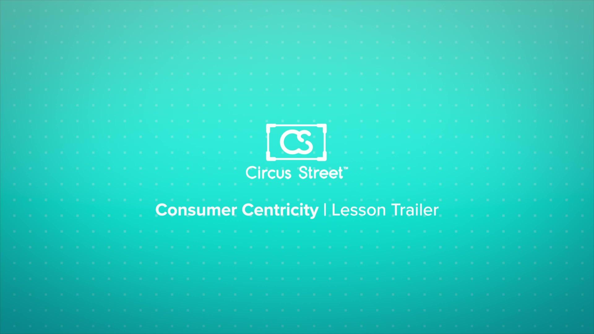 Consumer Centricity Trailer