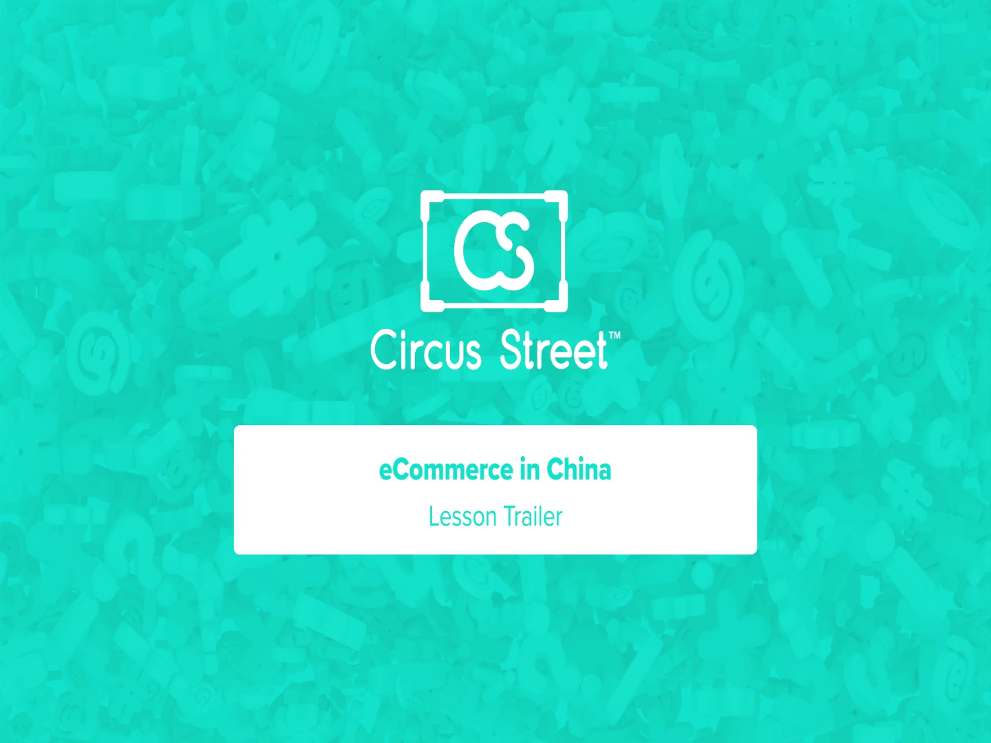 eCommerce in China Trailer